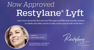 Restylane Lyft approved for cheek and nasiolable folds